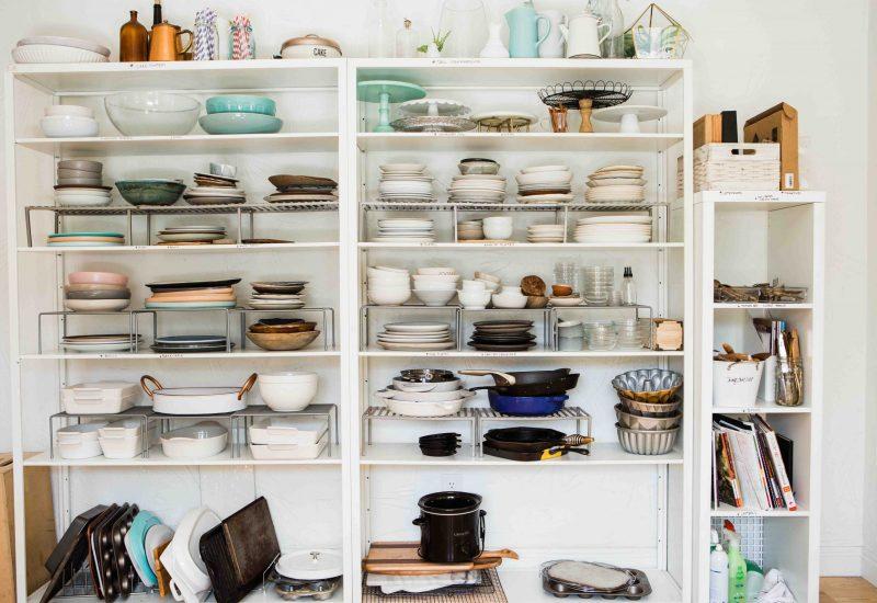 Kitchen organization and declutter